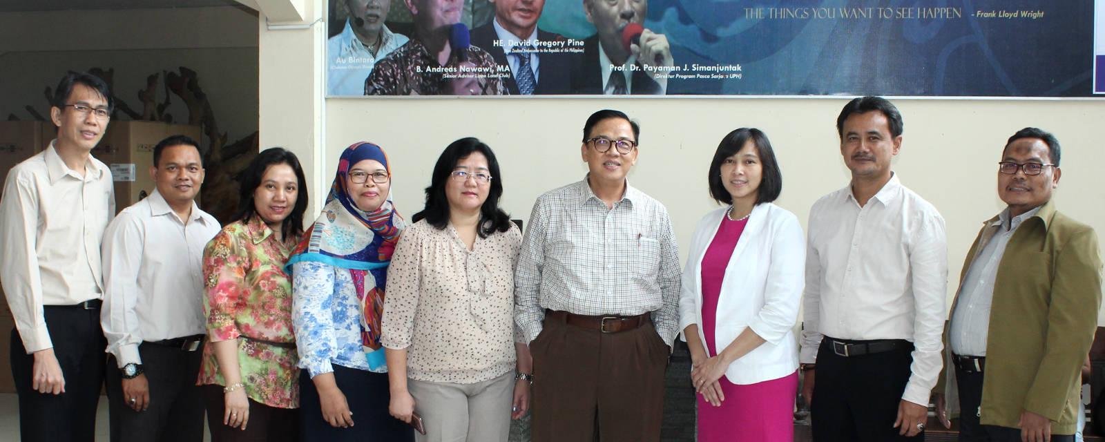 staf yayasan Widya Anindya Tangerang