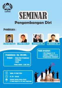 seminar pengembangan diri