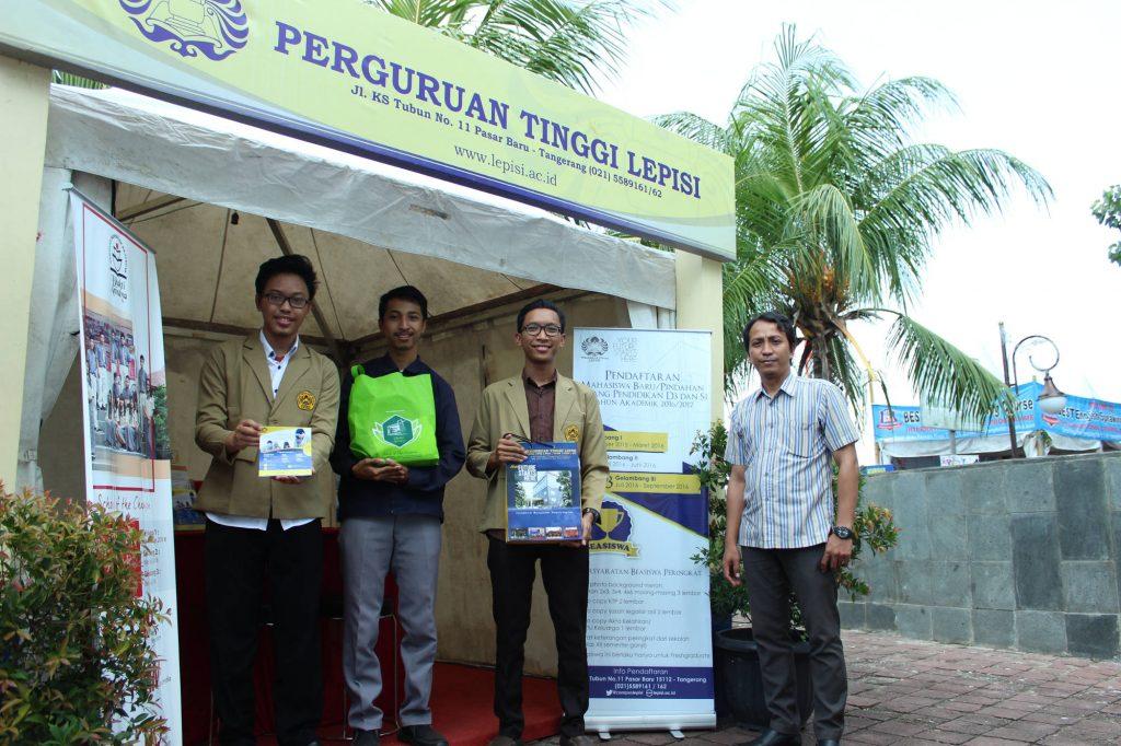 Perguruan Tinggi LEPISI Tangerang di Festival Cisadane 2016