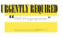 Lowongan PHP-web Yayasan Widya Anindya